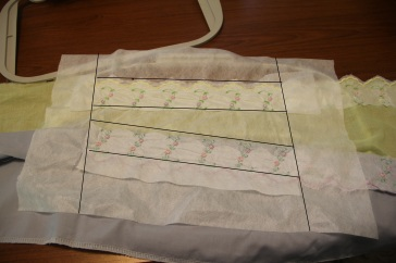 Blog article on saving stabilizer while stitching border designs