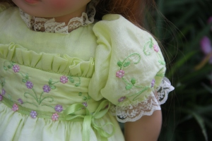 Stitching details by Kathy Harrison- Custom Keepsakes designs