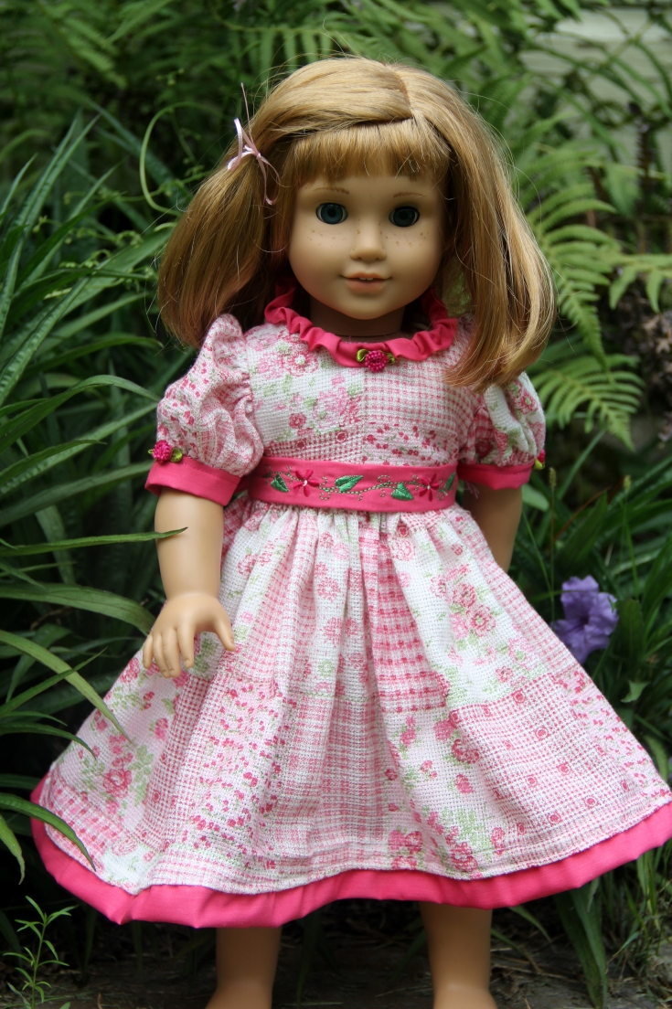 "Summer dress for a 18"" doll from Stitching with Elli"