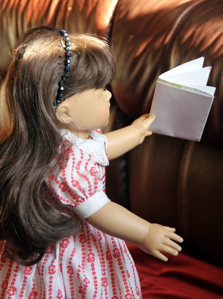 "Samantha has a letter- a 18"" doll adventure by Stitching with Elli"