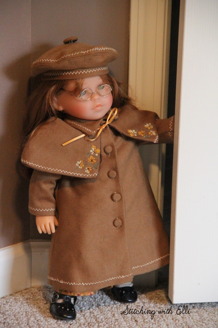 "Ellen is ready for Winter- a 18"" doll adventure by Stitching with Elli"