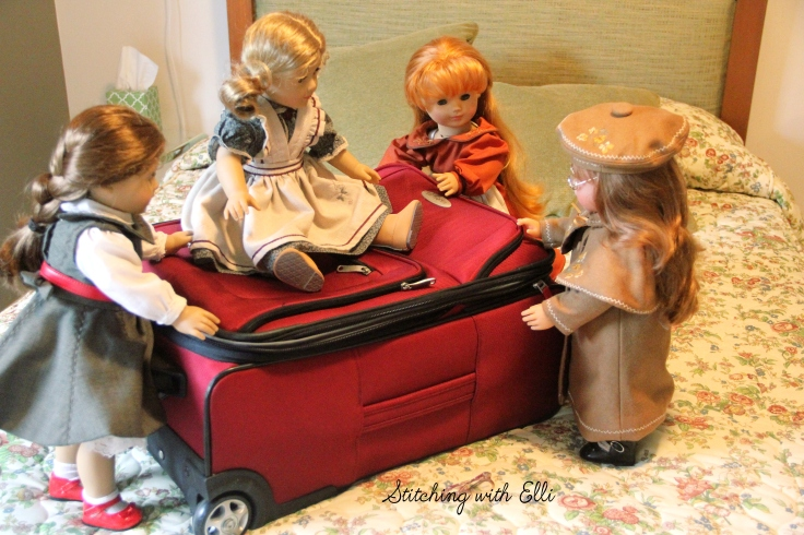 """Felicty in a 18"""" doll adventure by Stitching with Elli"""