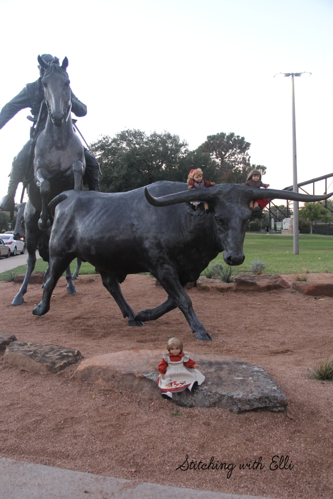 The dolls explore Waco Texas- a 18