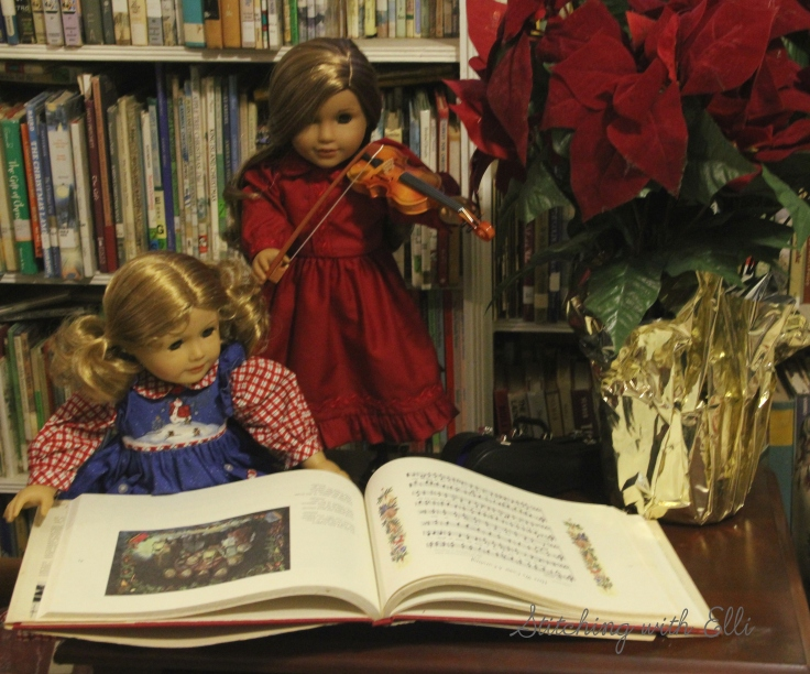 Christmas carols are a big part of Christmas!- by Stitching with Elli
