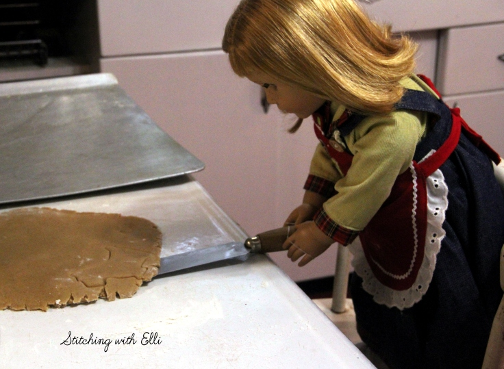 Time to make Cutout cookies!- American girl Christmas story by Stitching with Elli