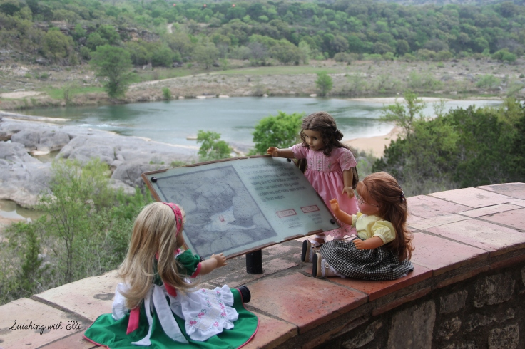 "Exploring Pedernales falls state park- a 18"" doll adventure by Stitching with Elli"