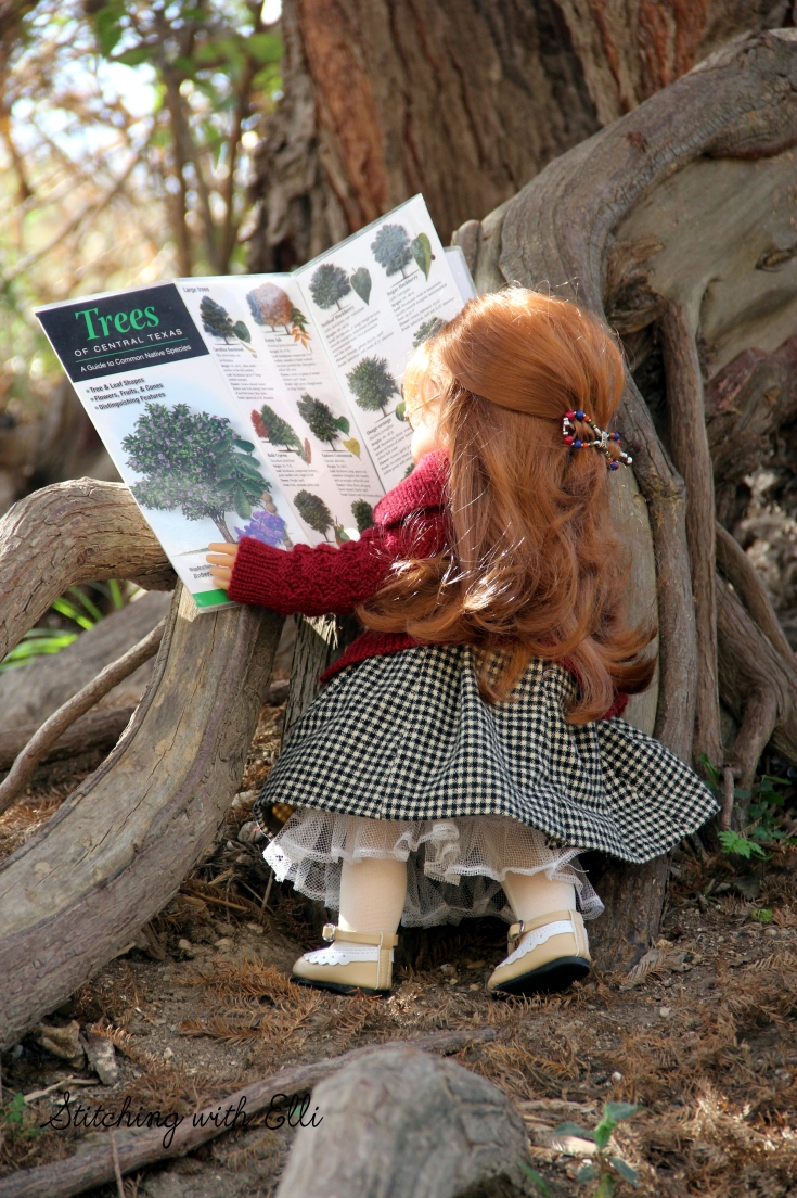 """Nellie and Ellen hike in Guadelope state park- a 18"""" doll adventure www.stitchingwithelli.com"""